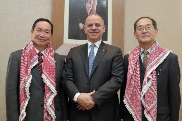 Mayor Noshiro Visit Jordan