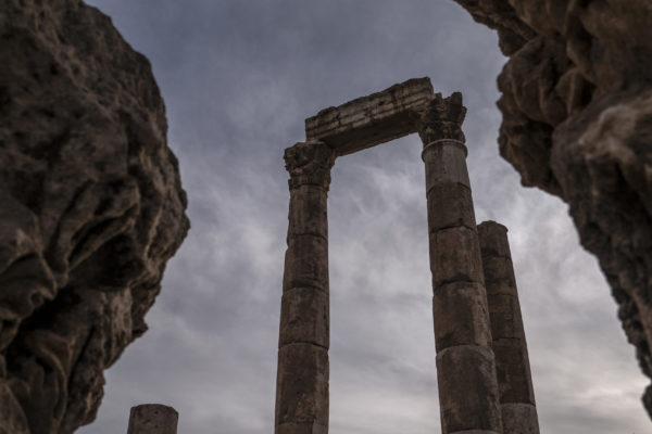 Amman Citadel by Muheisen