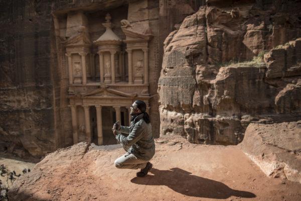 Muhammed Muheisen in Petra